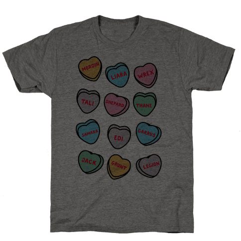 Candy Heart Squad Members Mens T-Shirt