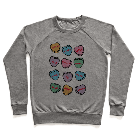 Candy Heart Squad Members Pullover