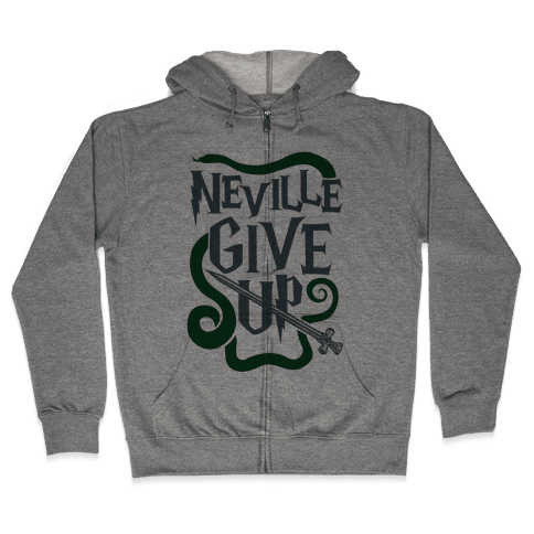 Neville Give Up Zip Hoodie