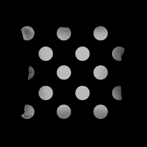 Big Polka Dot Pillow (black and white)