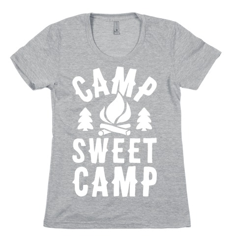 Camp Sweet Camp Womens T-Shirt