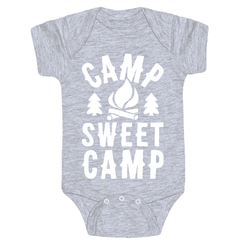 Camp Sweet Camp Baby Onesy