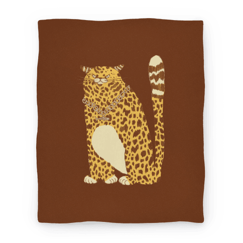 Big Chill Cat Blanket