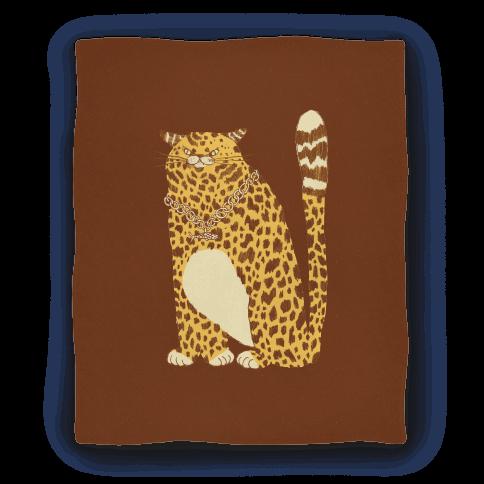 Big Chill Cat Blanket
