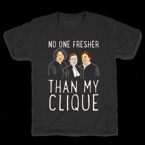 No One Fresher Than My Clique Kids T-Shirt