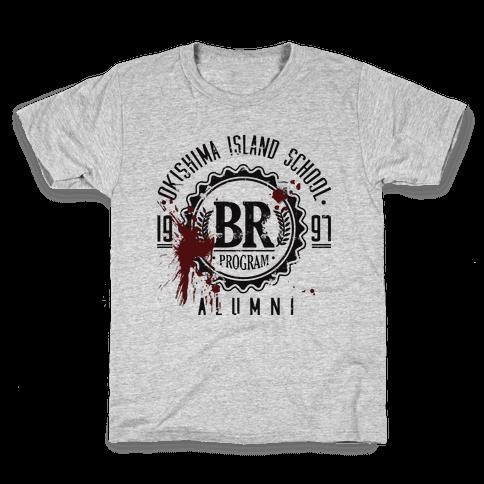 Okishima Island School Alumni Kids T-Shirt