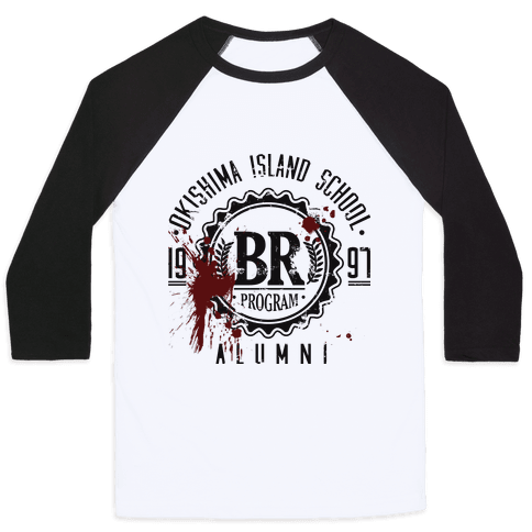 Okishima Island School Alumni Baseball Tee