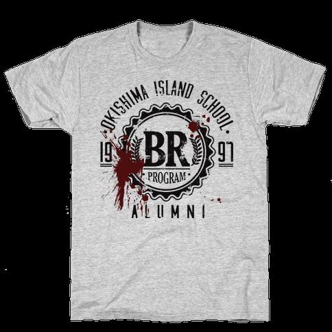 Okishima Island School Alumni Mens T-Shirt