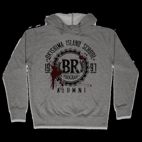 Okishima Island School Alumni Hooded Sweatshirt