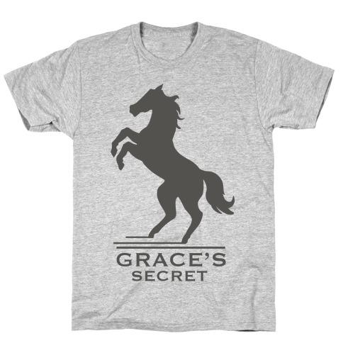 Grace's Secret Faux Fashion Logo T-Shirt