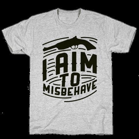 Misbehave Mens T-Shirt