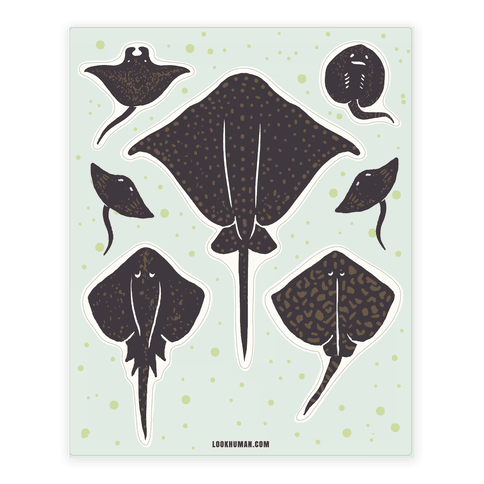 Stingray  Sticker/Decal Sheet