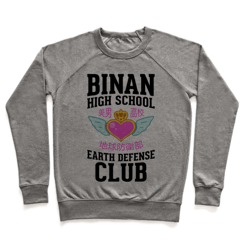 Binan High School Earth Defense Club Pullover