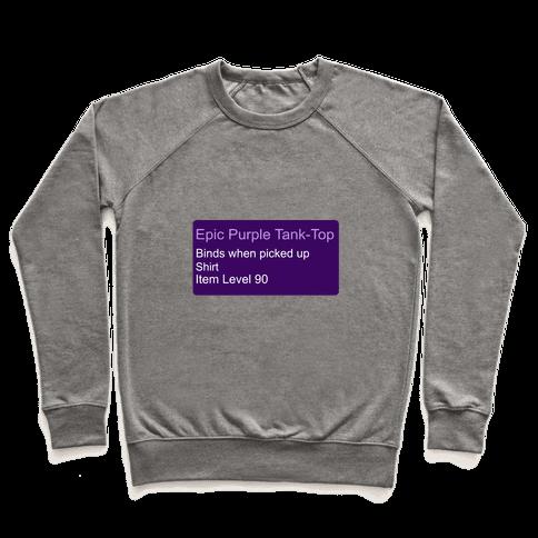 Epic Purple Tank-Top Pullover