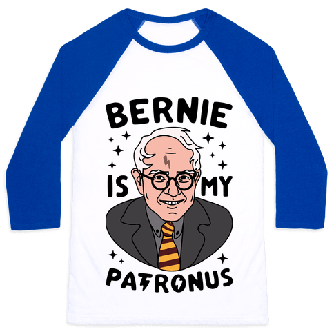 Bernie Is My Patronus Baseball Tee