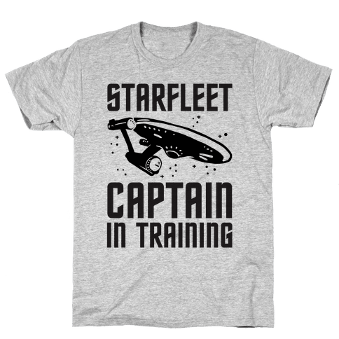 Starfleet Captain In Training Mens T-Shirt