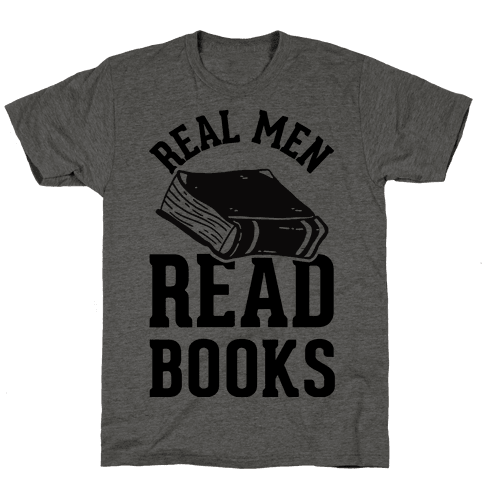 Real Men Read Books Mens T-Shirt