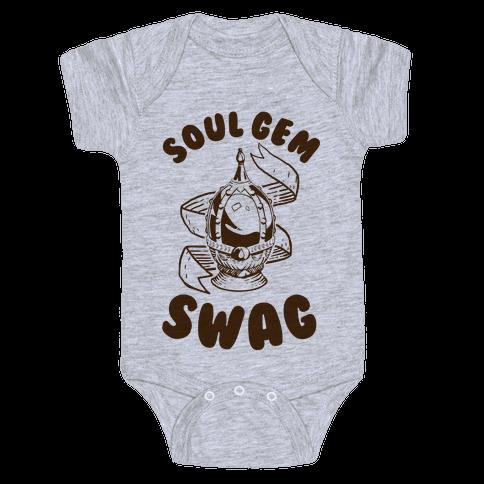 Soul Gem Swag Baby Onesy