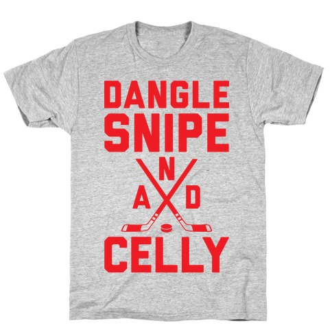 Dangle Snipe And Celly Mens T-Shirt