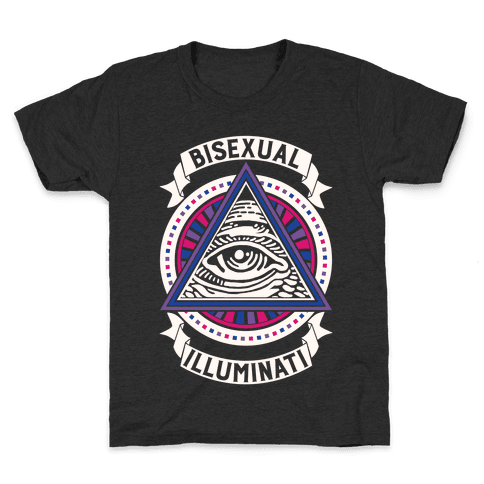 Bisexual Illuminati Kids T-Shirt