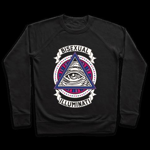 Bisexual Illuminati Pullover