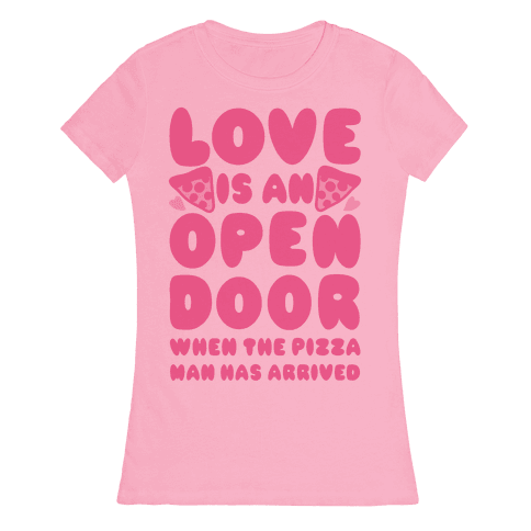 Love Is An Open Door Womens T-Shirt