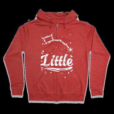 Dippers (Little Dipper) Zip Hoodie