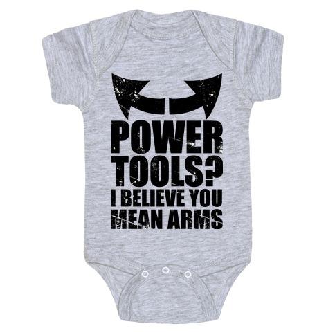 Power Tools Baby Onesy