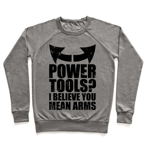Power Tools Pullover