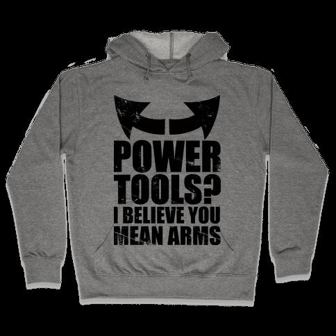 Power Tools Hooded Sweatshirt