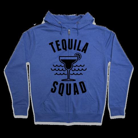 Tequila Squad Zip Hoodie