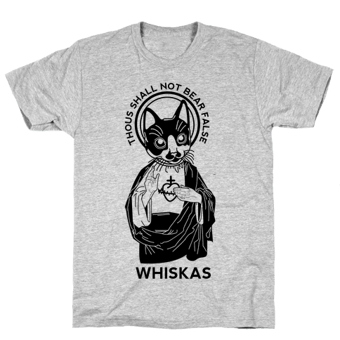 False Whiskas Mens T-Shirt