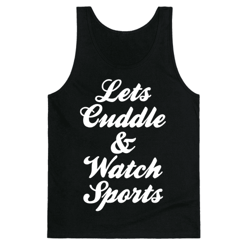 Cuddle & Sports Tank Top