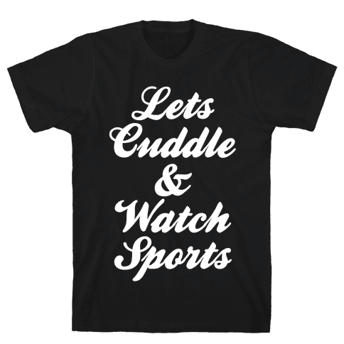 Cuddle & Sports Mens T-Shirt