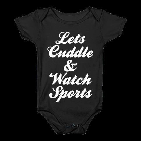 Cuddle & Sports Baby Onesy