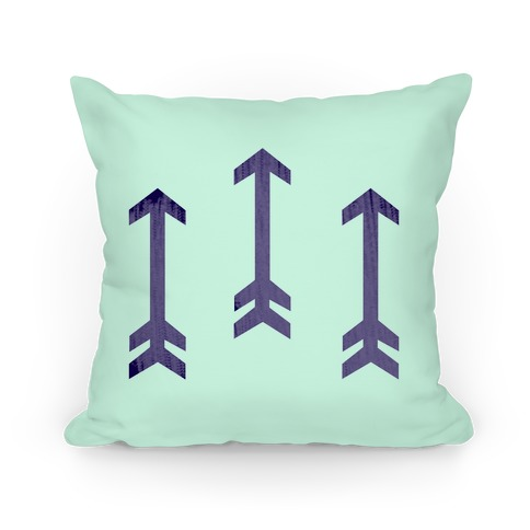 Arrow Pattern Pillow