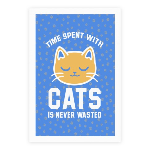 Time Spent With Cats Poster