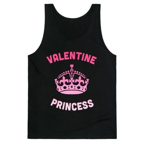 Valentine Princess (Dark) Tank Top