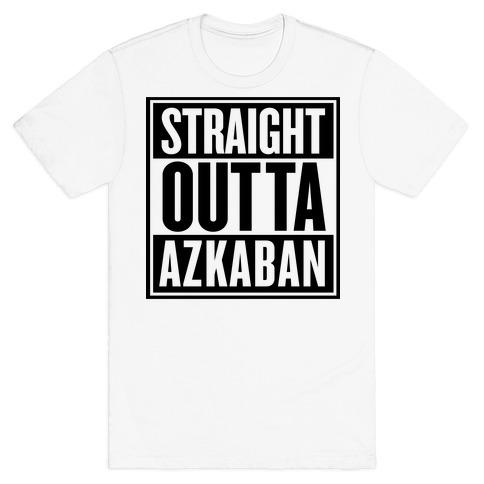 Straight Outta Azkaban Mens T-Shirt