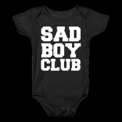 Sad Boy Club Baby Onesy
