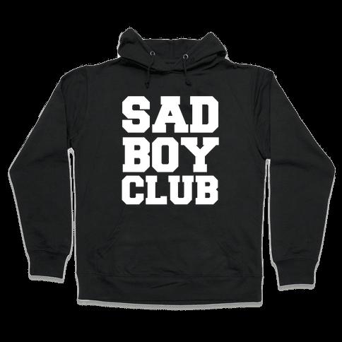 Sad Boy Club Hooded Sweatshirt