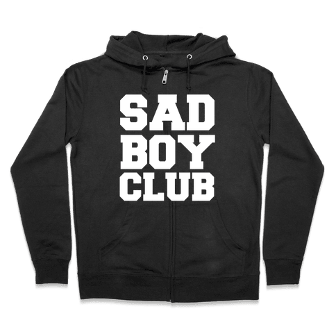 Sad Boy Club Zip Hoodie