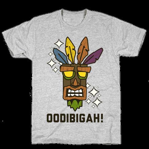 Crash Aku-Aku Mask Mens/Unisex T-Shirt