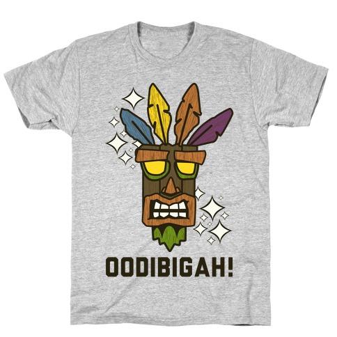 Crash Aku-Aku Mask T-Shirt
