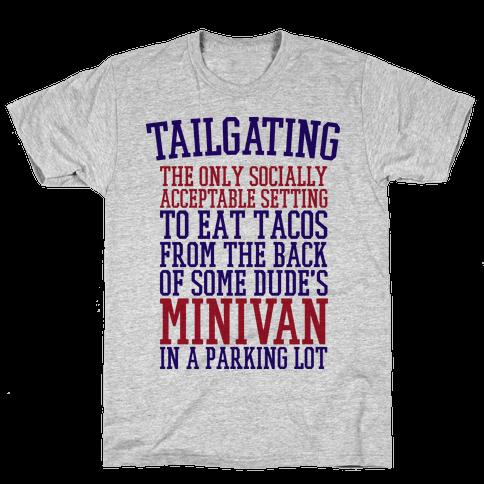 Tailgating Mens T-Shirt