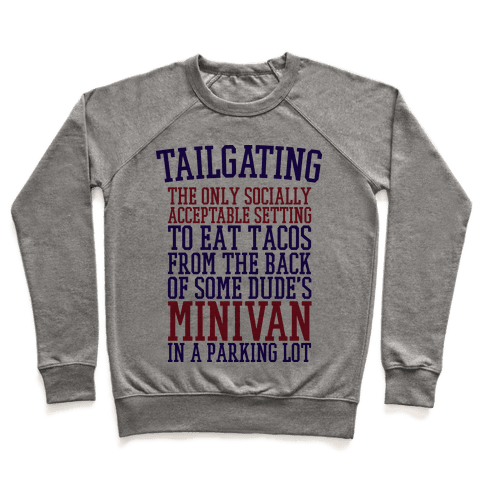 Tailgating Pullover