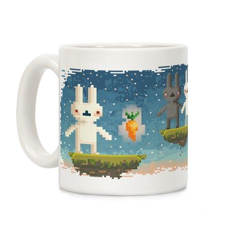 Bunny Pixel Mug Coffee Mug