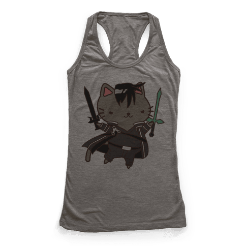 Cat Cosplay Kirito Racerback Tank Top