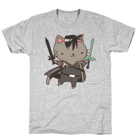 Cat Cosplay Kirito T-Shirt