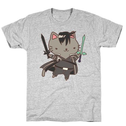 Cat Cosplay Kirito T-Shirt